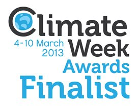 Climate Week Awards 2013 - Finalist